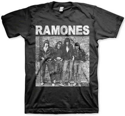 Ramones Men's Tee - 1st Album Black - Grösse S