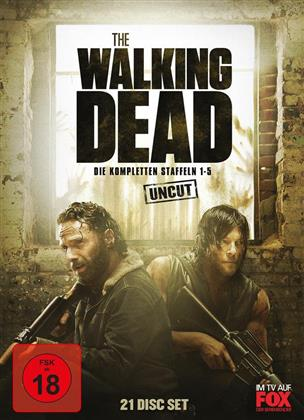 The Walking Dead - Staffel 1-5 (Uncut, 21 DVDs)