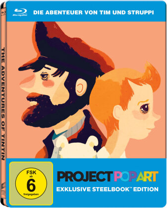 Die Abenteuer von Tim & Struppi (2011) (Project Pop Art Edition, Steelbox)