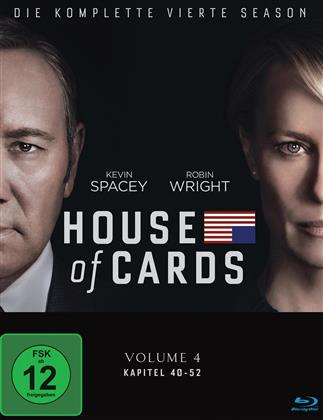 House of Cards - Staffel 4 (Digibook, 4 Blu-rays)