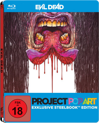 Evil Dead (2013) (Project Pop Art Edition, Cut Version, Steelbook)