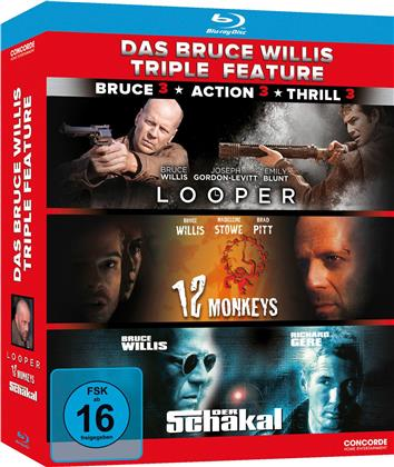 Bruce Willis Triple Feature (3 Blu-rays)