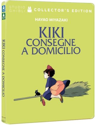 Kiki consegne a domicilio (1989) (Collector's Edition, Steelbook, Blu-ray + DVD)
