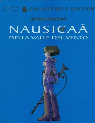 Nausicaä della valle del vento (1984) (Collector's Edition, Steelbook, Blu-ray + DVD)