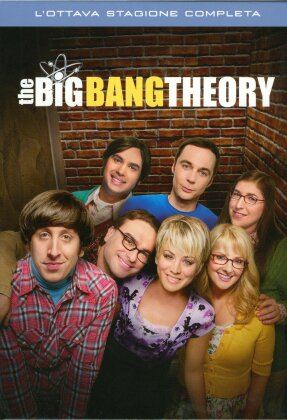 The Big Bang Theory - Stagione 8 (3 DVDs)