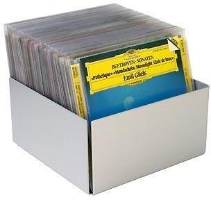 CD Softcover Set Alu 40 - Box Alu + 1 Pack à 40 CD-Hüllen