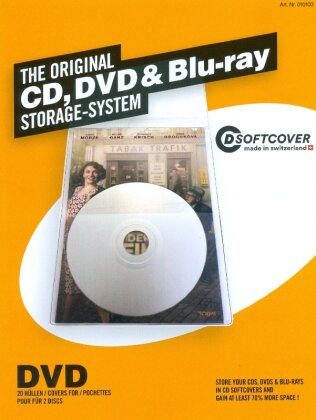 DVD Softcover sleeves - set with 20 pieces