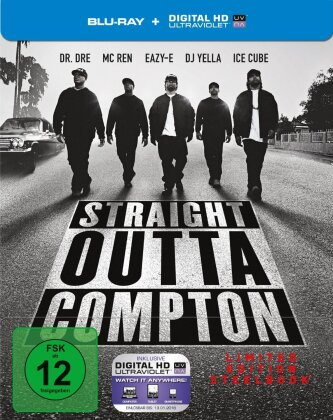 Straight Outta Compton (2015) (Director's Cut, Limited Edition, Steelbook)