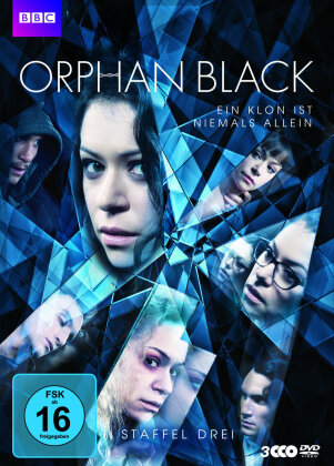 Orphan Black - Staffel 3 (BBC, 3 DVDs)