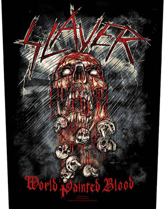Slayer - World Painted Blood - Backpatch