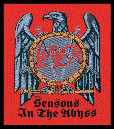 Slayer Sew-on Patch - Seasons In The Abyss / Black [onesize]