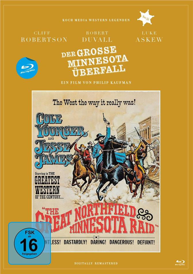 Der grosse Minnesota Überfall (1972) (Digitally Remastered, Western Legenden, Digibook)