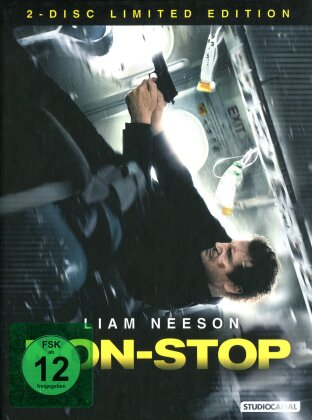 Non-Stop (2014) (Limited Edition, Mediabook, Blu-ray + DVD)