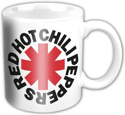 Red Hot Chili Peppers Tasse Motiv - Classic Asterisk / Bunt