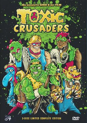 Toxic Crusaders - Die komplette Serie & der Film (Digibook, Collector's Edition Limitata, 3 DVD)