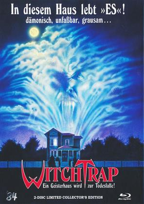 Witchtrap (1989) (Cover B, Limited Collector's Edition, Mediabook, Blu-ray + DVD)