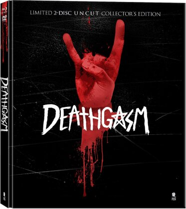 Deathgasm (2015) (Collector's Edition, Limited Edition, Mediabook, Uncut, Blu-ray + 2 DVDs)