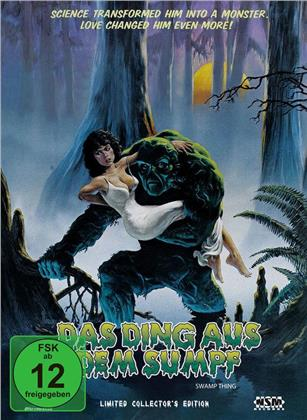 Das Ding aus dem Sumpf (1982) (Cover A, Collector's Edition, Limited Edition, Uncut, Mediabook, Blu-ray + DVD)