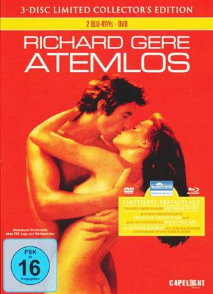 Atemlos (1983) (Collector's Edition, Limited Edition, Uncut, Mediabook, 2 Blu-rays + DVD)