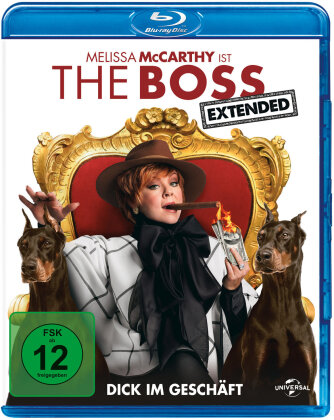 The Boss (2016) (Extended Edition, Kinoversion)