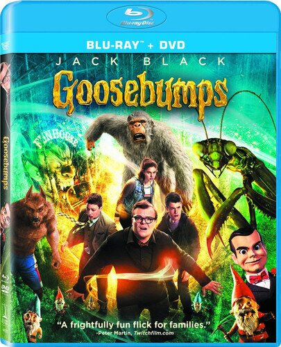 Goosebumps (2015) (Blu-ray + DVD)