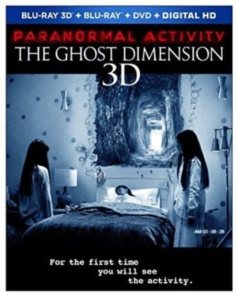 Paranormal Activity 5 - Ghost Dimension (2015) (Blu-ray 3D + Blu-ray + DVD)