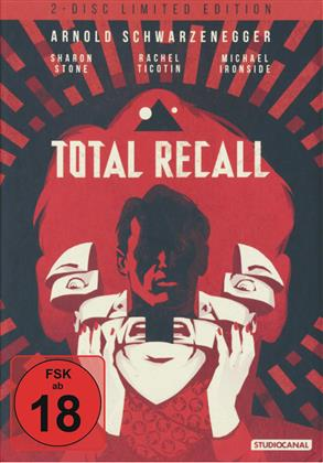 Total Recall (1990) (Limited Edition, Mediabook, Blu-ray + DVD)
