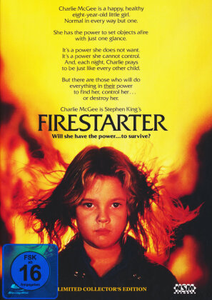 Firestarter (1984) (Cover C, Limited Collector's Edition, Mediabook, Blu-ray + DVD)