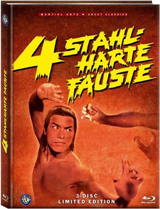 4 stahlharte Fäuste (1977) (Uncut Classics, Limited Edition, Mediabook, Blu-ray + 2 DVDs)