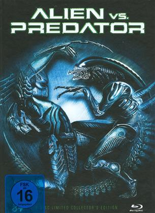 Alien vs. Predator (2004) (Cover C, Collector's Edition, Limited Edition, Mediabook, Blu-ray + 2 DVDs)