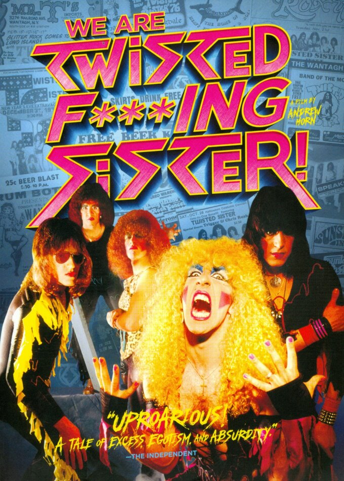 Twisted Sister - We Are Twisted Fucking Sister! (2014) (Collector's Edition, 2 DVDs)