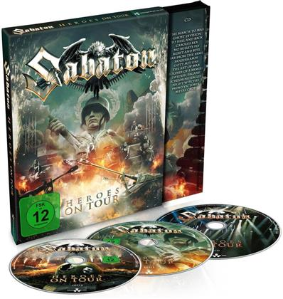 Sabaton - Heroes on Tour (Mediabook, 2 DVD + CD)