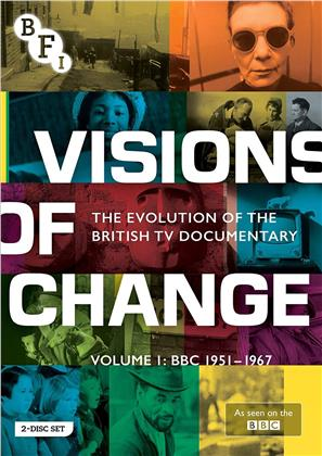 Visions of Change - The Evolution of the British TV Documentory - Vol. 1: BBC 1951-1967 (s/w, 2 DVDs)