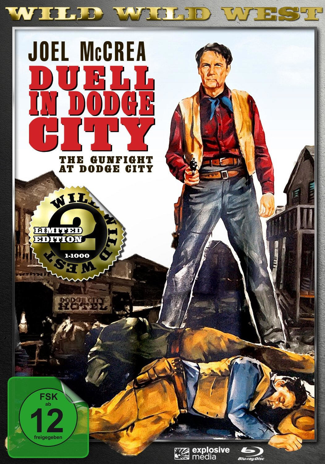 Duell in Dodge City (1959) - (Wild Wild West, Limited Edition, Blu-ray & DVD)