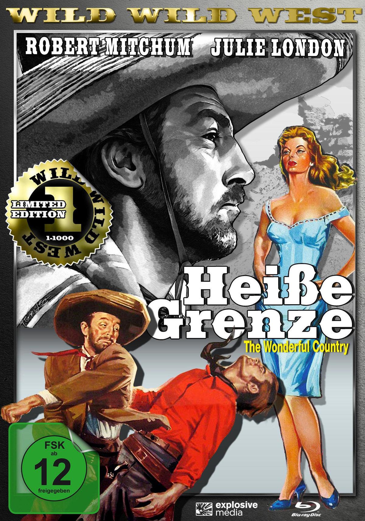 Heisse Grenze (1959) - (Wild Wild West, Limited Edition, Blu-ray & DVD)