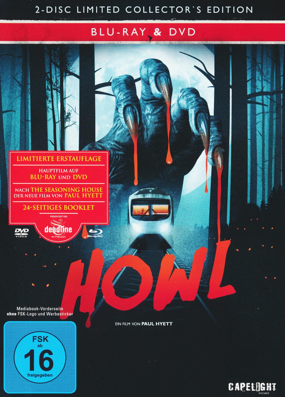 Howl (2015) - (Limited Edition, Mediabook, Uncut, Blu-ray & DVD)