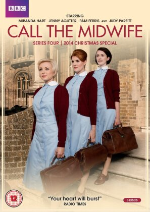 Call the Midwife - Season 4 (BBC, 3 DVDs)