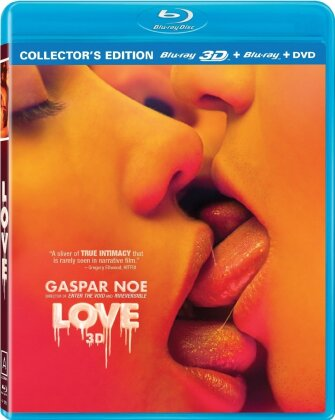 Love (2015) (Collector's Edition, Blu-ray 3D (+2D) + DVD)
