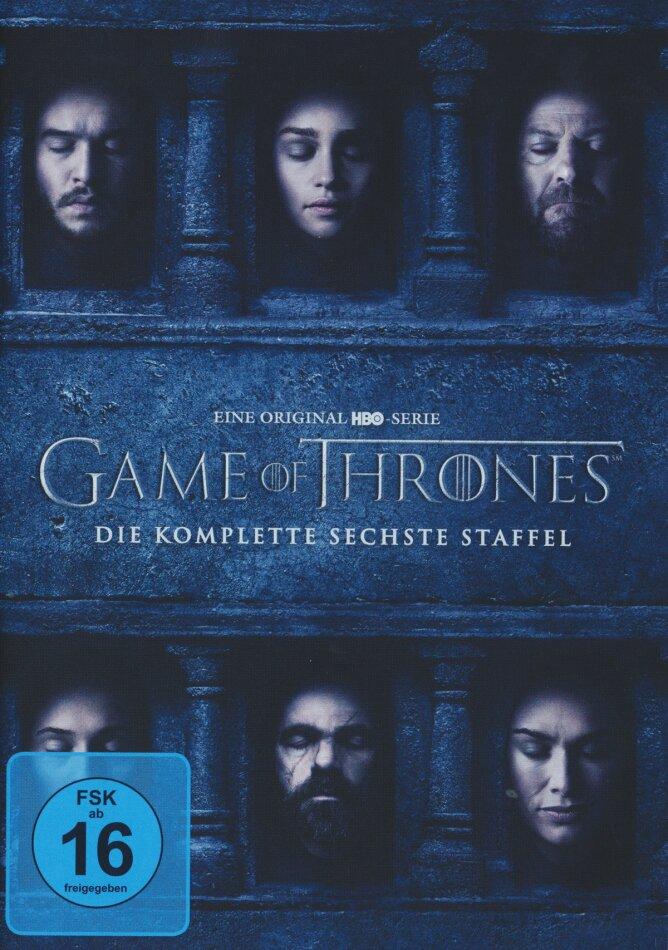 Game Of Thrones Staffel 6 5 Dvds Cedech