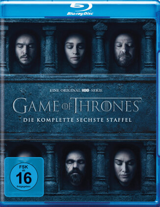 Game of Thrones - Staffel 6 (4 Blu-rays)