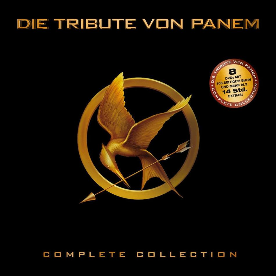 Die Tribute von Panem - Complete Collection (Limited Edition, 8 DVDs)