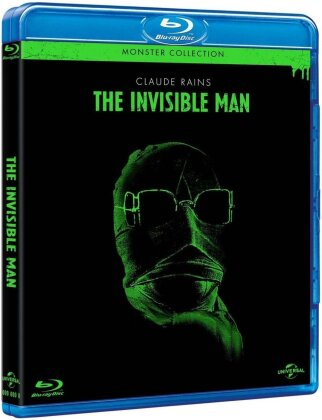 L'homme invisible (1933) (Monster Collection, s/w)