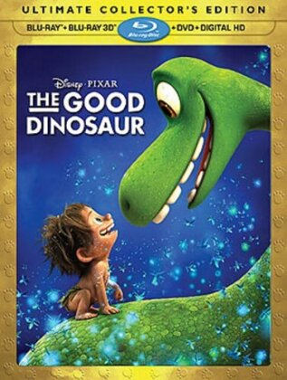 The Good Dinosaur (2015) (Collector's Edition, Blu-ray 3D + Blu-ray + DVD)