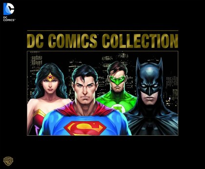 DC Comics Collection (Edition Numérotée, Limited Edition, 30 DVDs + Buch)