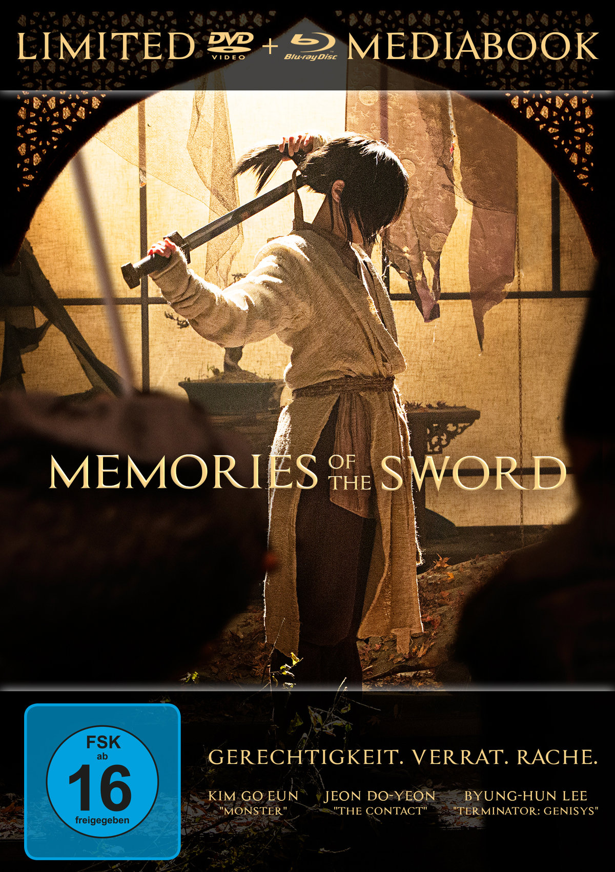 Memories of the Sword (2015) - (Limited Edition, Mediabook, Blu-ray & DVD)
