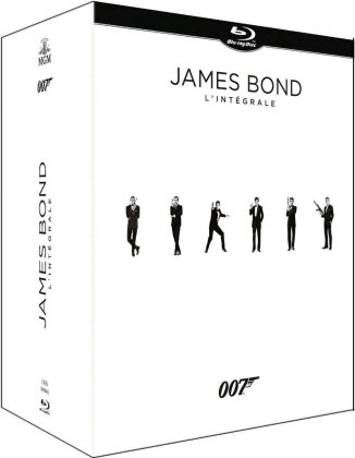James Bond - L'Intégrale (Edizione Limitata, 25 Blu-ray)