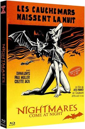Nightmares Come at Night - Les cauchemars naissent la nuit (1972) (Eurocult Collection, Cover B, Limited Edition, Uncut, Mediabook, 3 Blu-rays)