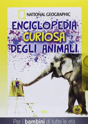 Enciclopedia curiosa degli animali (National Geographic, 3 DVD)