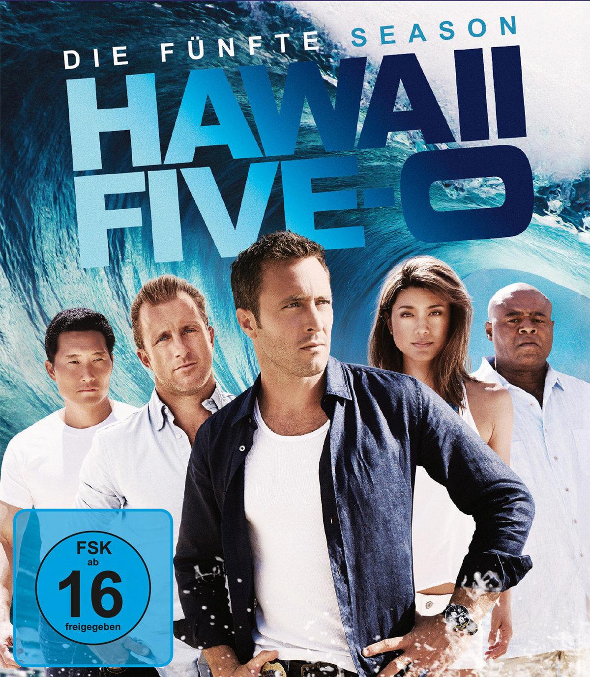 Hawaii Five-O (2010) - Staffel 5 (5 Blu-rays)