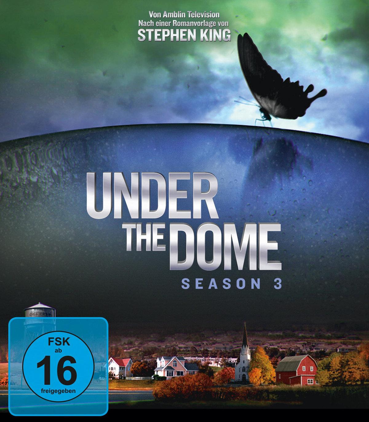 Under the Dome - Staffel 3 (4 Blu-rays)